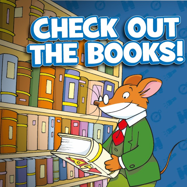 Image result for geronimo stilton reading