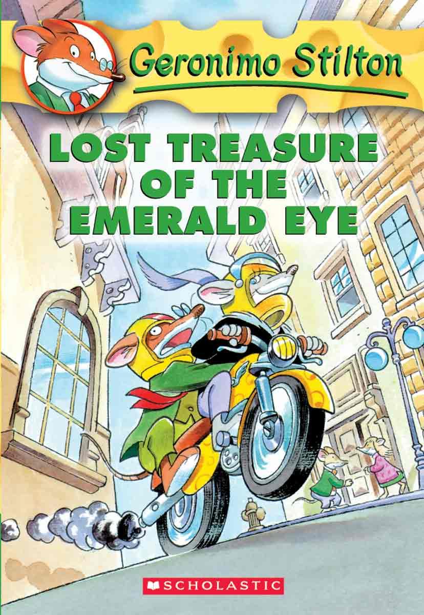 Lost Treasure Of The Emerald Eye (Geronimo Stilton, Book 1)