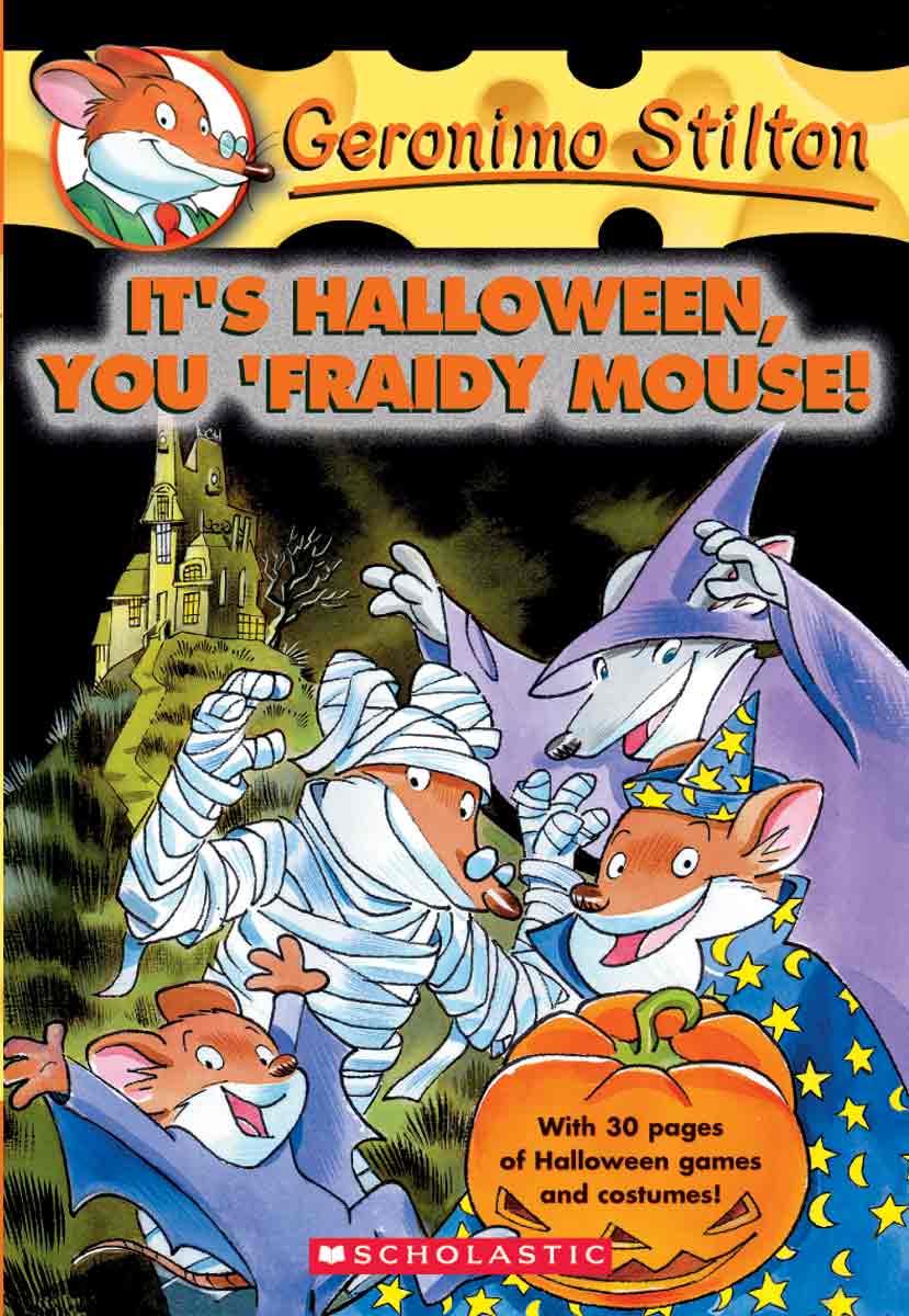 Foto Di Halloween.Geronimo Stilton 11 It S Halloween You Fraidy Mouse