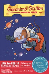Oregon Children's Theatre presents Geronimo Stilton: Mouse in Space