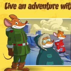 Create your own adventure with Geronimo!