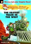 "Geronimo Stilton #13 ""The Fastest Train in the West"""