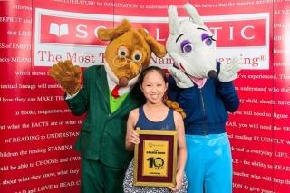 Golden rewards for 10-year-old