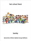 bamby - het school feest