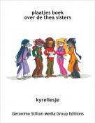 kyreliesje - plaatjes boekover de thea sisters