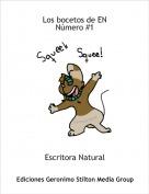 Escritora Natural - Los bocetos de ENNúmero #1