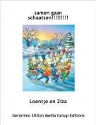 Loentje en Ziza - samen gaan schaatsen!!!!!!!!!