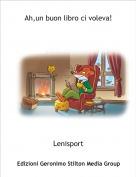 Lenisport - Ah,un buon libro ci voleva!