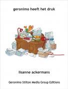 lisanne ackermans - geronimo heeft het druk