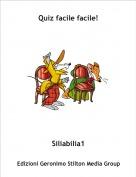 Siliabilia1 - Quiz facile facile!