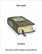 Oreoijs - Het boek