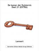 Lennert - De kamer der Duisternis Deel 21 (EXTRA)