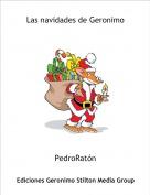 PedroRatón - Las navidades de Geronimo