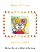 topetta scrittrice - Topetta Scrittrice
