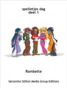Rambette - spelletjes dagdeel 1