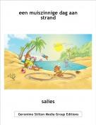 salies - een muiszinnige dag aan strand