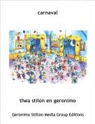 thea stilon en geronimo - carnaval