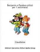 Claudiatea - Benjamin e Pandora stilisti per 1 settimana!