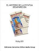 Vicky101 - EL MISTERIO DE LA ESTATUA DESAPARECIDA