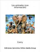 Conry - Los animales (con información)