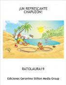 RATOLAURA19 - ¡UN REFRESCANTE CHAPUZÓN!