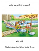 Alice19 - Allarme effetto serra!