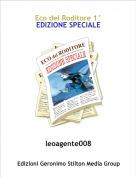 leoagente008 - Eco del Roditore 1°EDIZIONE SPECIALE
