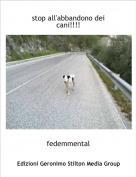 fedemmental - stop all'abbandono dei cani!!!!