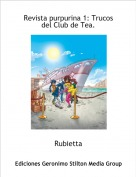 Rubietta - Revista purpurina 1: Trucos del Club de Tea.