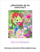 Mielcita Ratidulce - ¡¡Resultados de los concursos!!