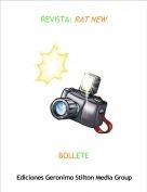 BOLLETE - REVISTA: RAT NEW