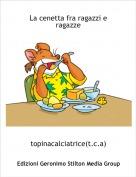 topinacalciatrice(t.c.a) - La cenetta fra ragazzi e ragazze