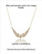 Leirisa Comelibros - Mas personajes para las mega hadas
