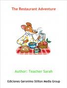 Author: Teacher Sarah - The Restaurant Adventure