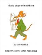 gaiasimpatica - diario di geronimo stilton
