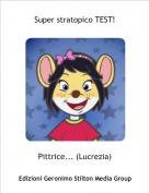 Pittrice... (Lucrezia) - Super stratopico TEST!