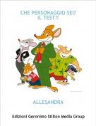 ALLESANDRA - CHE PERSONAGGIO SEI?IL TEST!!