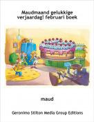 maud - Maudmaand gelukkige verjaardag! februari boek