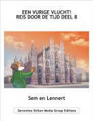 Sem en Lennert - EEN VURIGE VLUCHT!REIS DOOR DE TIJD DEEL 8