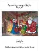 emily04 - Geronimo conosce Babbo Natale!