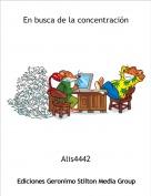 Alis4442 - En busca de la concentración