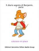 colorare-mi-piace - Il diario segreto di Benjamin.2° parte