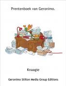 Knaagie - Prentenboek van Geronimo.