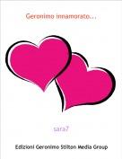 sara7 - Geronimo innamorato...