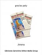 Jimena - gracias paty