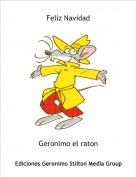 Geronimo el raton - Feliz Navidad