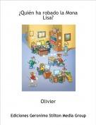 Olivier - ¿Quién ha robado la Mona Lisa?