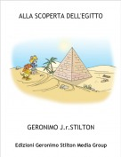 GERONIMO J.r.STILTON - ALLA SCOPERTA DELL'EGITTO