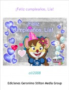 oli2008 - ¡Feliz cumpleaños, Lía!