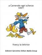 francy la lettrice - a Carnevale ogni scherzo vale!!